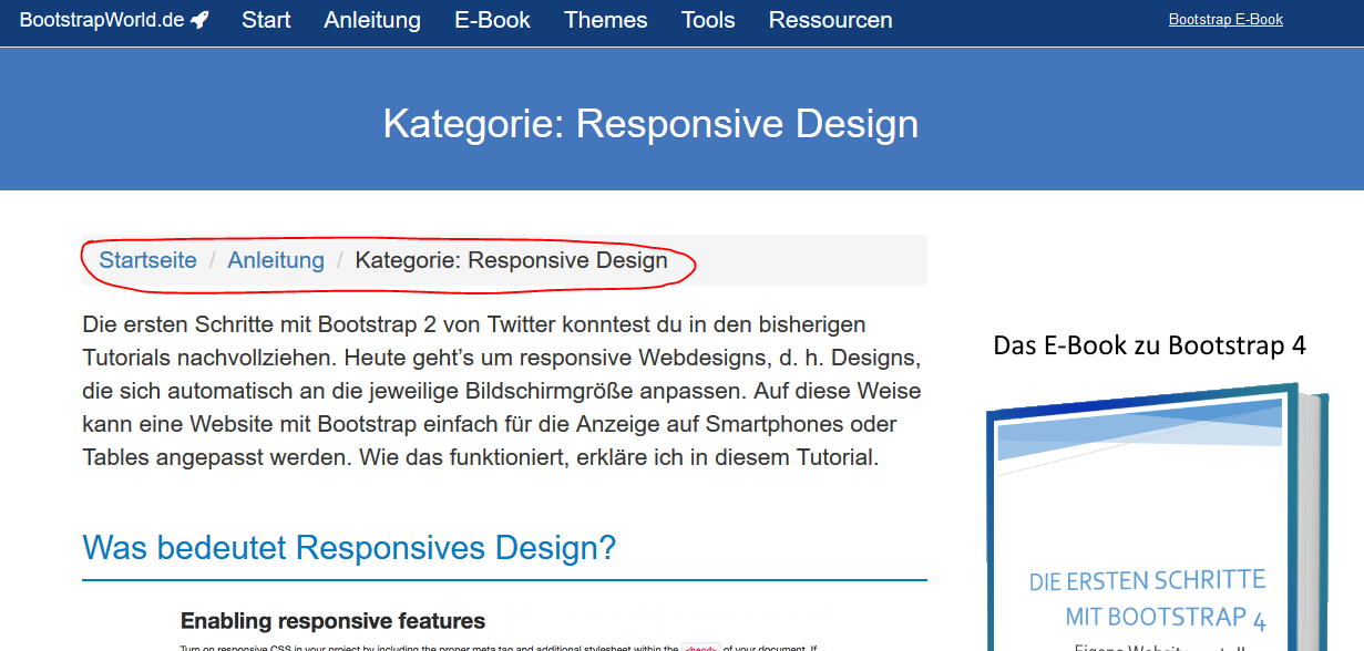 Was ist Bootstrap? ☼ BootstrapWorld.de